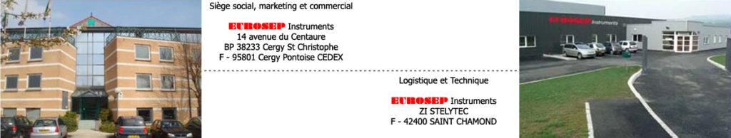 EUROSEP Instruments. Localisation de l'entreprise